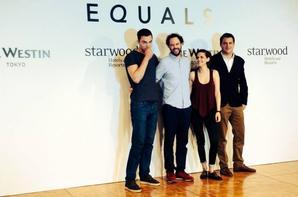 """Nouveau film de Kristen """" EQUALS """" photos et vidéos de la conférences de presse"""