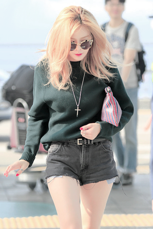 OMG! You are so beautiful my hyuna ! I love you