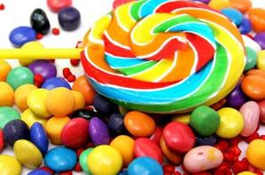 bonbons colorés