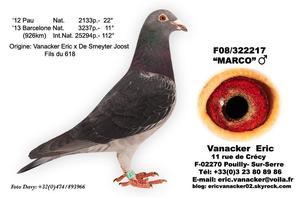Visite hier de mon Ami Eric Vanacker
