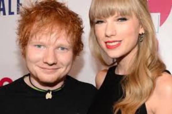 Taylor Swift et Ed Sheeran ont collaboré ensemble .