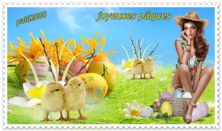 ***********bonne  fête de pâques a tous  ******* cadeaux pour vous  mes amies ******