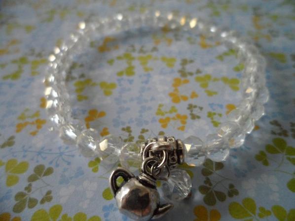 """Bracelet """" Théière"""""""