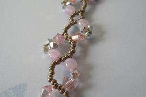 """Bracelet """"Volutes Perlées"""""""