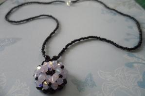 "Collier ""Flocon de Neige"""