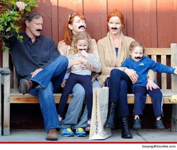 Avec sa famille ♥