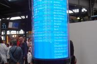 La signalétique de la SNCF.