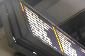 La signalétique du métro RER.
