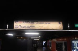 La signalétique du RER.