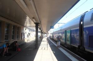 Gare de Dijon ville.