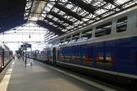 Les TGV.
