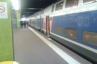 La gare de Metz.