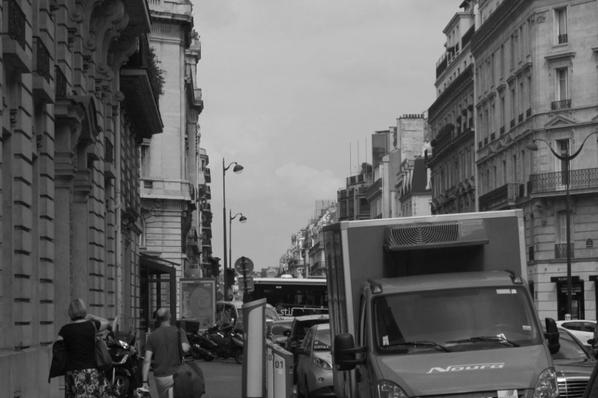 """Lieux de tournage du film """"La Haine"""": avenue Pierre 1er de Serbie"""