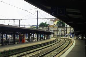Gare de Dijon.