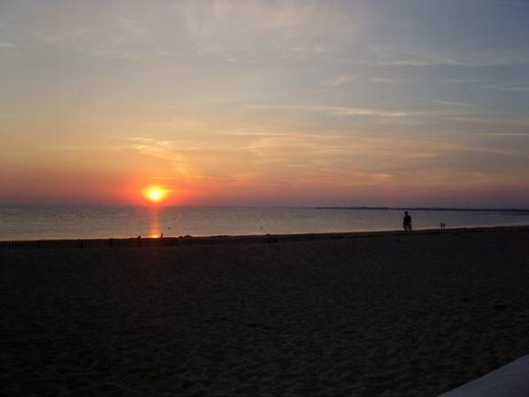 Crépuscule sur l'Atlantique {Photos personnelles}