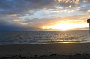 Crépuscule sur la plage {Photos personnelles}
