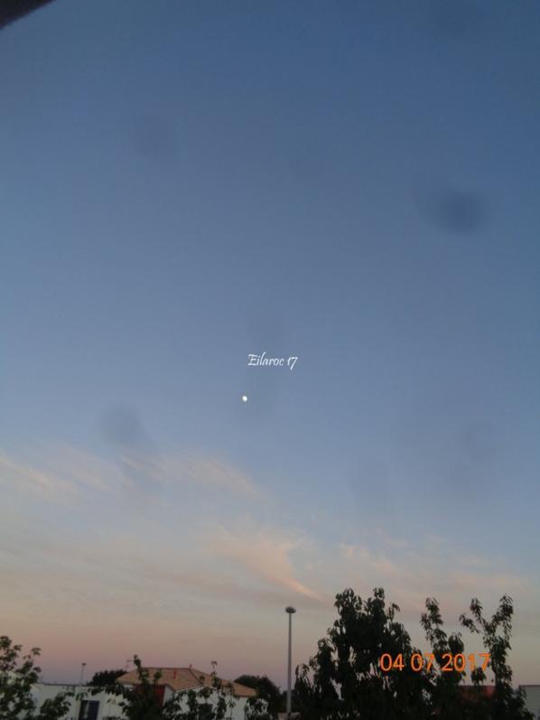 La Lune, le Ciel [Photos personnelles]