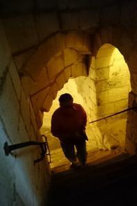 13 AOUT 2017 - CHATEAU DE LOCHES - LE CACHOT DU CARDINAL BALUE