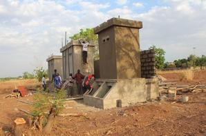 toilets for a school in the  north TOGO