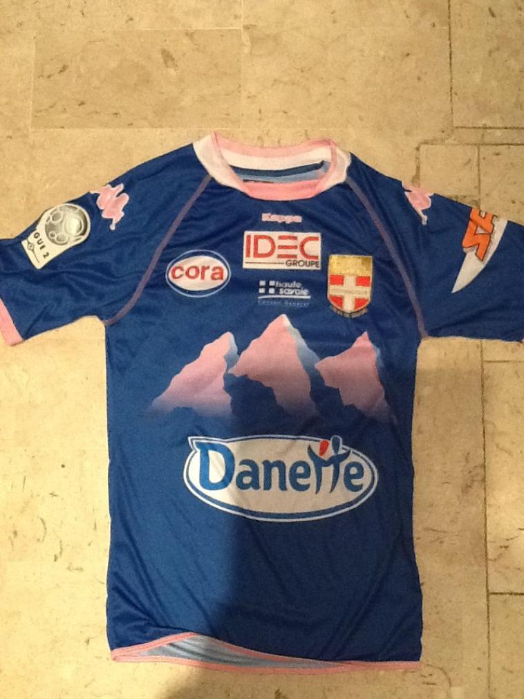 Maillot Sagbo Evian Ligue 2 2010-2011