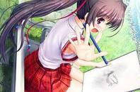 Manga qui travaille