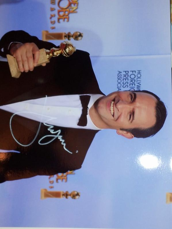 Jean Dujardin (The Artist, La French, OSS 117 Le Caire nid d'espions)