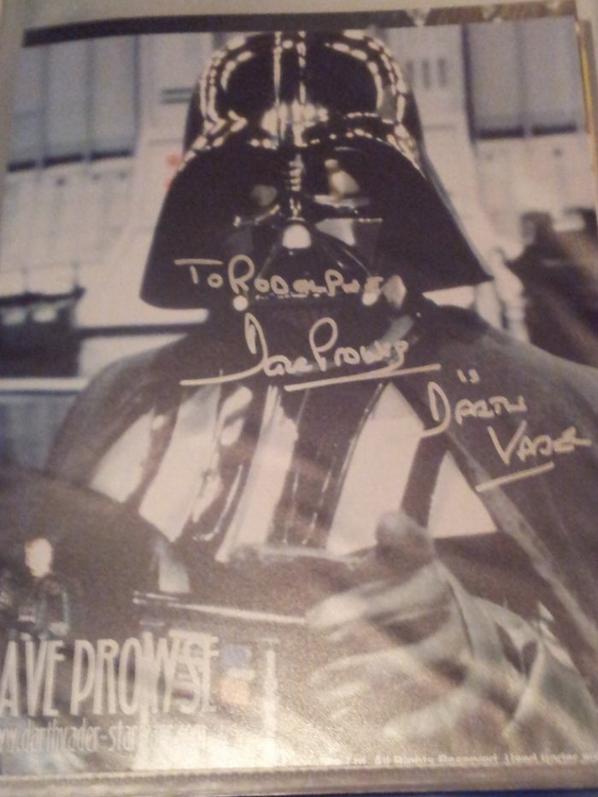 David Prowse (Star Wars épisode IV,V,VI, Les Horreurs de Frankenstein, Serpent noir)