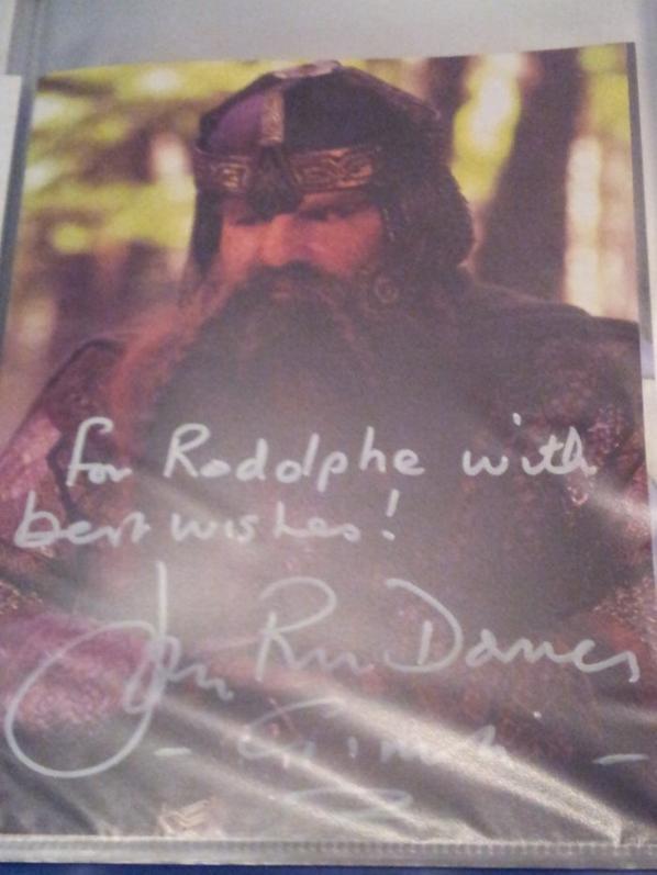 John Rhys-Davies (Indiana Jones, Le Seigneur des anneaux, Sliders)