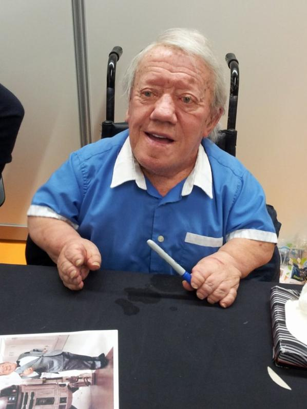 Kenny Baker (Star Wars 1 à 7, Elephant Man, Willow)