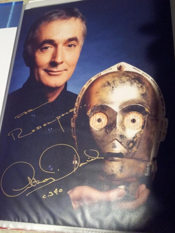 Anthony Daniels ( Star Wars 1 à 8)