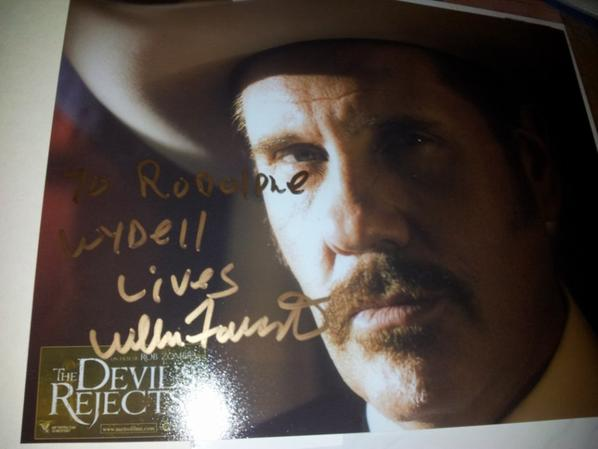 William Forsythe (The Devil's Rejects, Rock, Halloween)