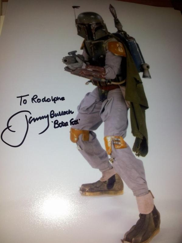 Jeremy Bulloch (Star Wars - Boba Fett)