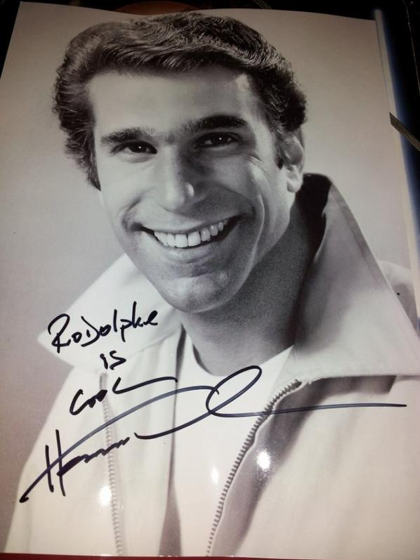 Henry Winkler (Happy Days, Les Croque-morts en folie, Scream)