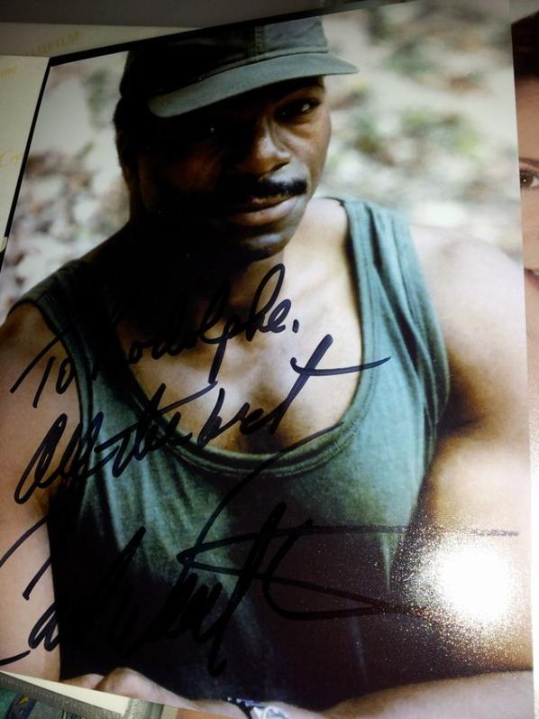 Carl Weathers (Rocky, Predator, Action Jackson)