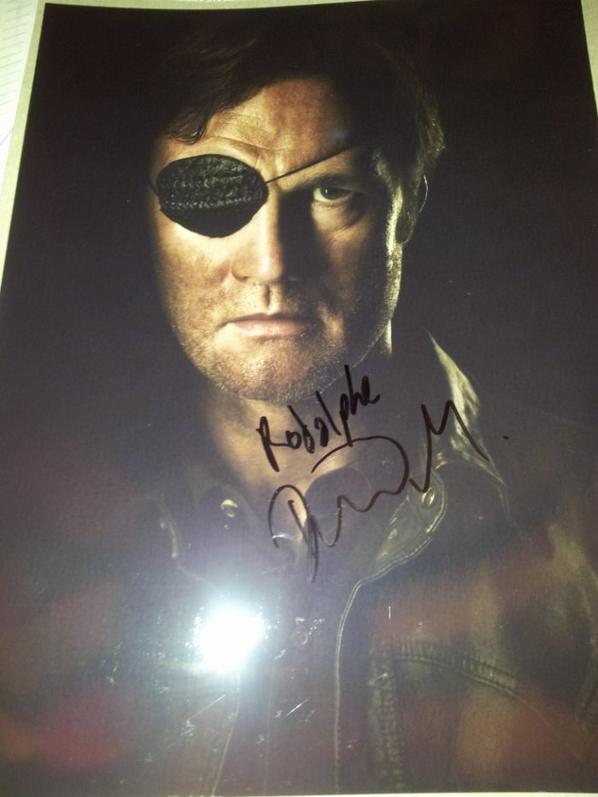 David Morrissey (The Walking Dead, Basic Instinct 2, The Driver)