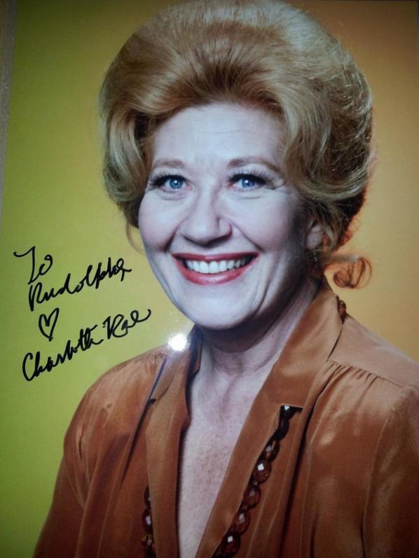 Charlotte Rae (Arnold et Willy - madame Garrett)