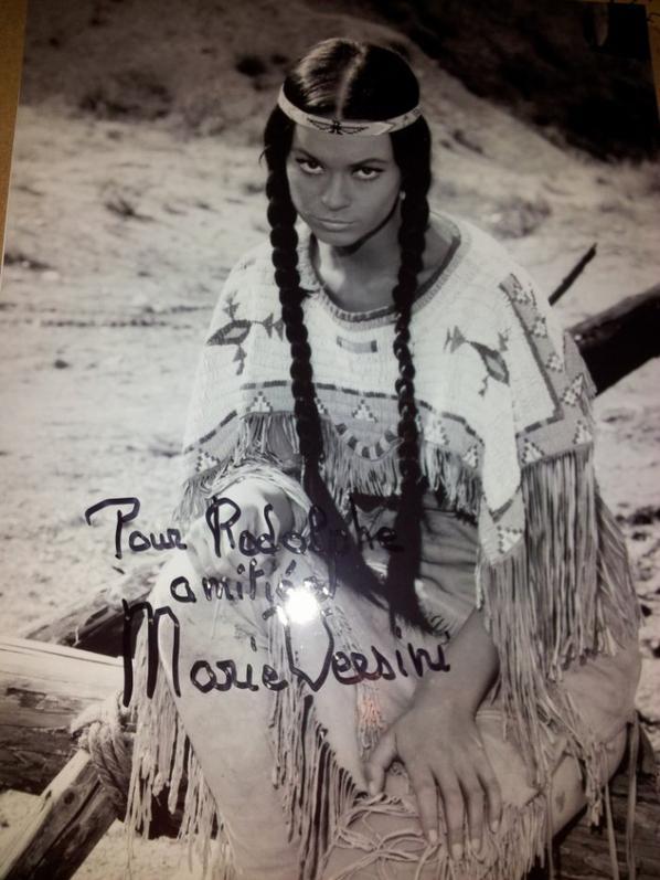 Marie Versini (La Révolte des Indiens Apaches, Les Treize Fiancées de Fu Manchu)
