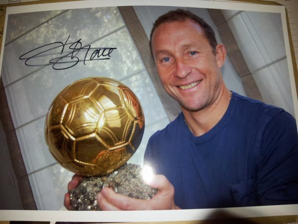 Jean-Pierre Papin  J.P.P. (Footballeur)