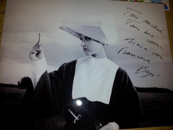 Francine Bergé (Judex, Les Abysses, Suzanne Simonin la Religieuse de Diderot)