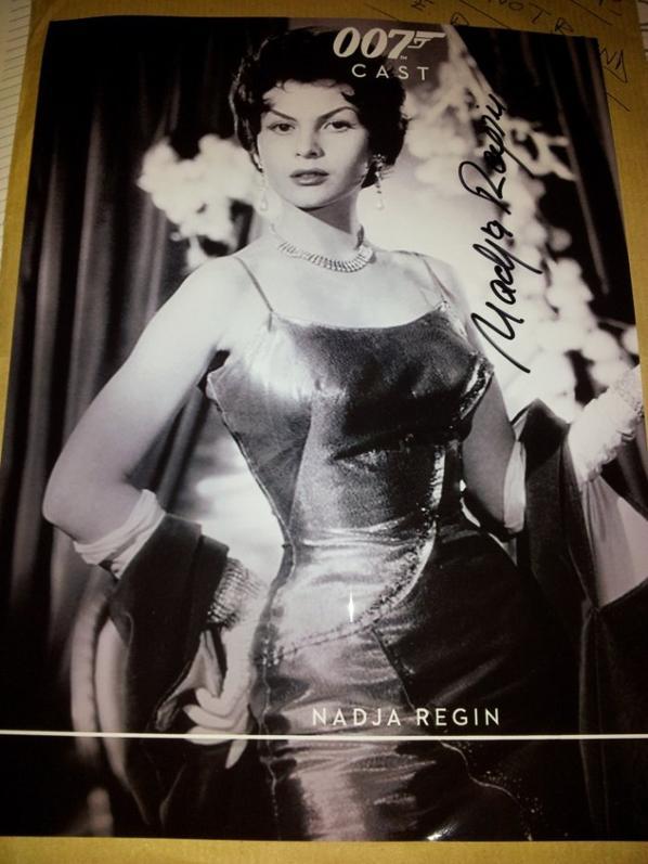 Nadja Regin (Goldfinger, Bons baisers de Russie, runaway)