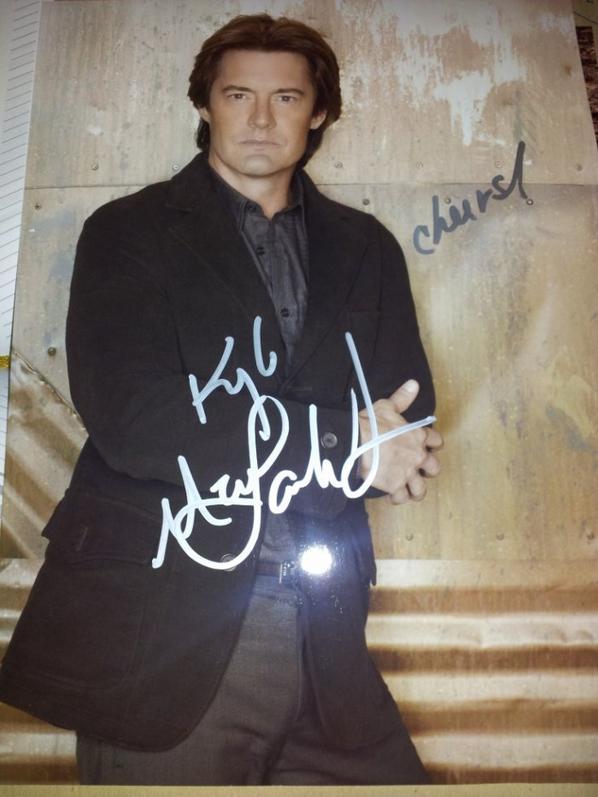 Kyle Maclachlan (Twin Peaks, Blue Velvet, Dune)