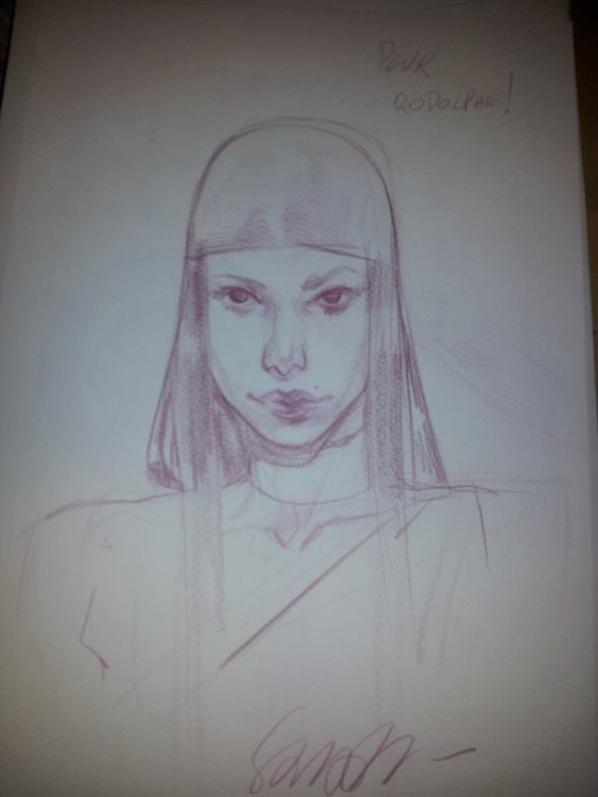 Sara Pichelli - Dessinatrice (Electra)