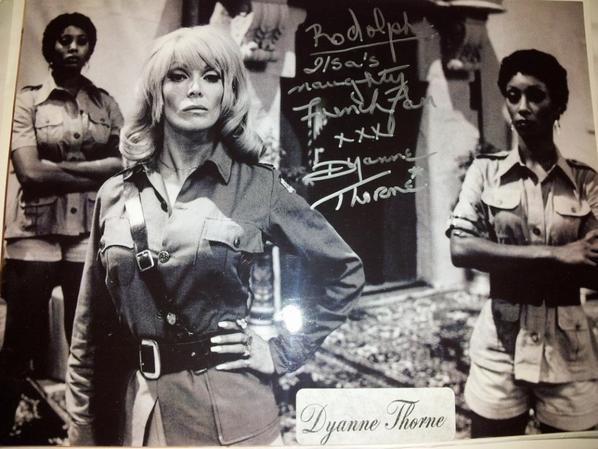 Dyanne Thorne (Ilsa la louve des SS, Greta la tortionnaire, Star Trek 1968)