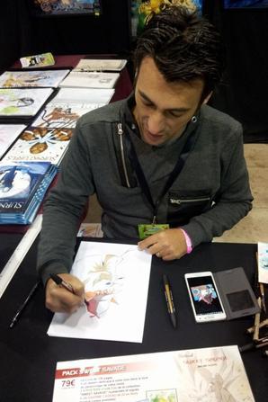 Jérôme ALQUIE dessinateur (Sherlock holmes, Albator, Goldorak)