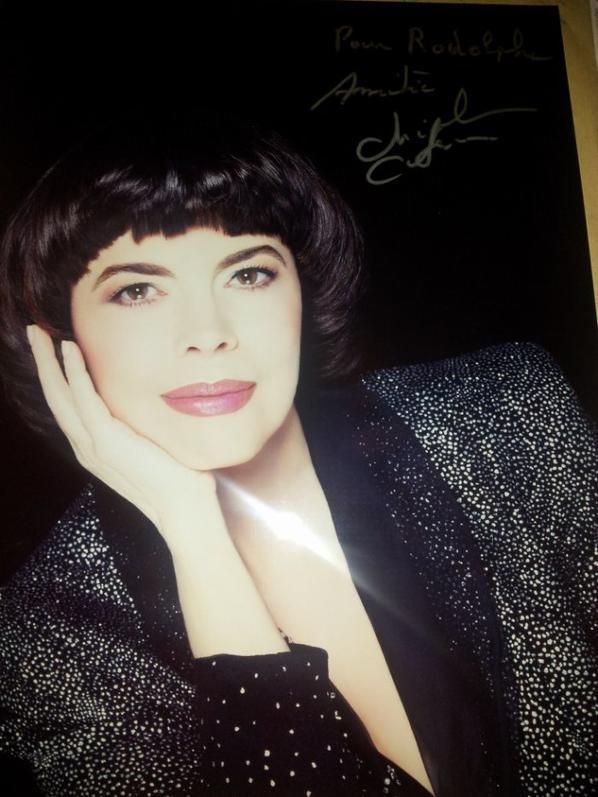 Mireille Mathieu - chanteuse