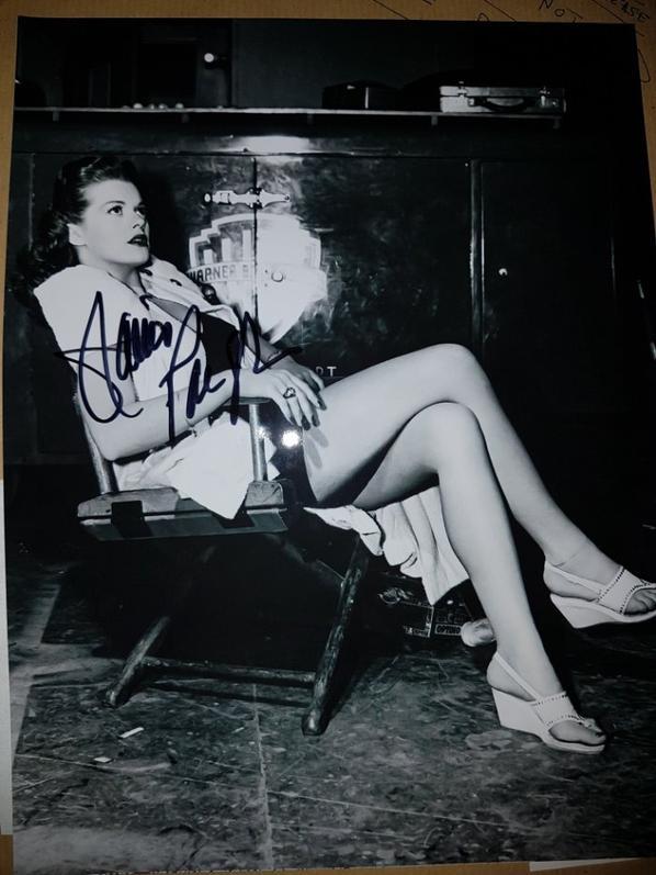 Janis Paige (La Belle de Moscou, Ne mangez pas les marguerites, Romance à Rio)