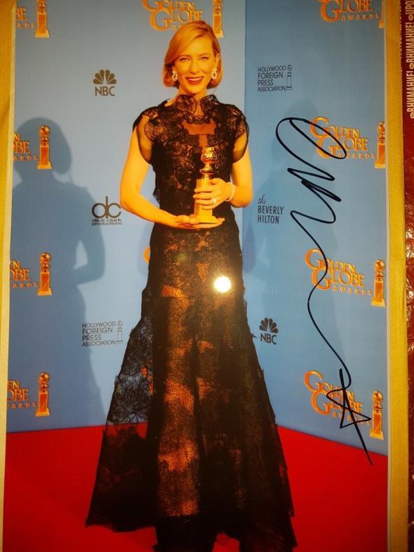Cate Blanchett (Le Seigneur des anneaux, Chronique d'un scandale, Blue Jasmine)