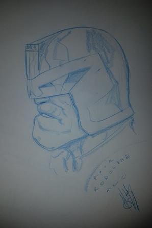 Inaki Miranda BD-COMICS (Judge Dredd)