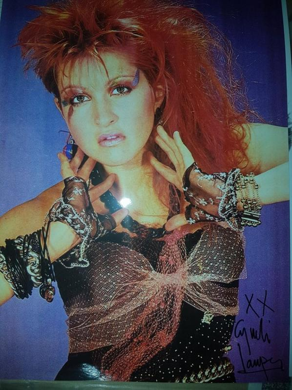 Cyndi Lauper (Time After Time, The World Is Stone, Girls Just Want to Have Fun)