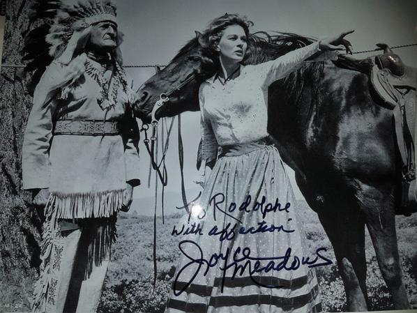 Joyce Meadows (Au nom de la loi, Alfred Hitchcock présente, L'Ouest aux deux visages)
